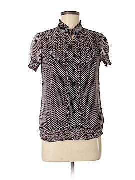 Fleurish Short Sleeve Blouse Size M