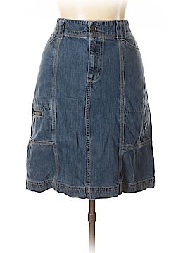 Eddie Bauer Denim Skirt Size 10