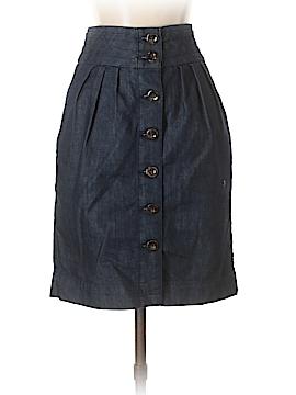 Pilcro and The Letterpress Denim Skirt Size 2