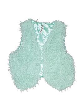 Knit Works Faux Fur Vest Size 14
