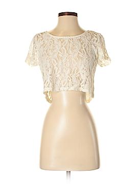 Full Tilt Short Sleeve Blouse Size M