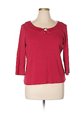 Rafaella 3/4 Sleeve Top Size XL