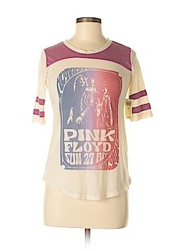 Pink Lotus 3/4 Sleeve T-Shirt Size XS