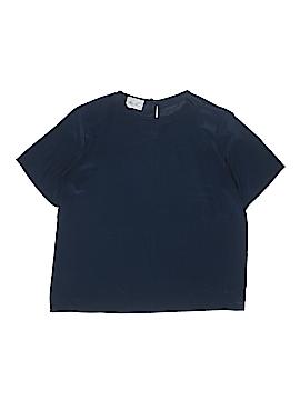 Kathie Lee Short Sleeve Blouse Size 12