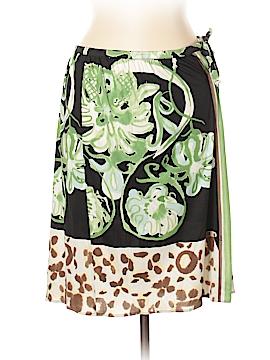Emilio Pucci Silk Skirt Size 10