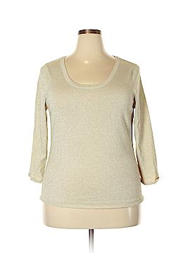 Laura Ashley 3/4 Sleeve Top Size XL