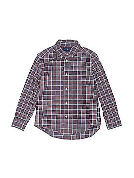 Ralph by Ralph Lauren Short Sleeve Button-Down Shirt Size 5