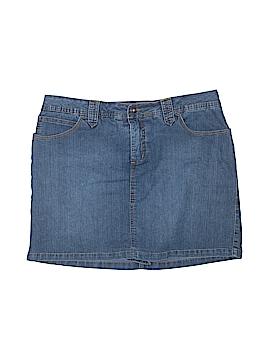 St. John's Bay Denim Skirt Size 16