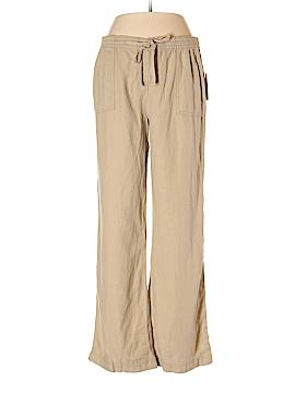 St. John's Bay Linen Pants Size M (Petite)