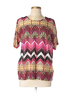 Carven Short Sleeve Blouse Size L