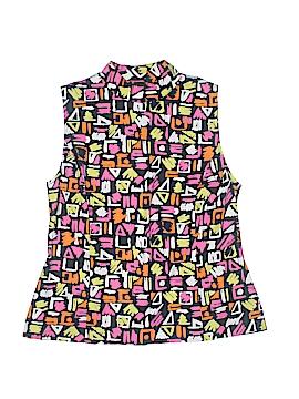 Sag Harbor Sleeveless Button-Down Shirt Size 12
