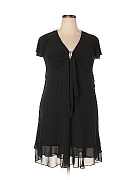 R&M Richards Casual Dress Size 16 (Petite)