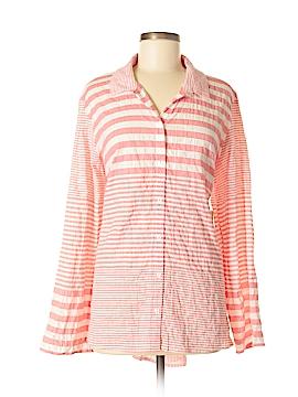 Habitat Long Sleeve Button-Down Shirt Size L