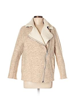 H&M L.O.G.G. Wool Coat Size 6