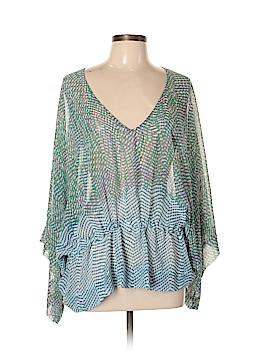 CAbi 3/4 Sleeve Blouse Size M