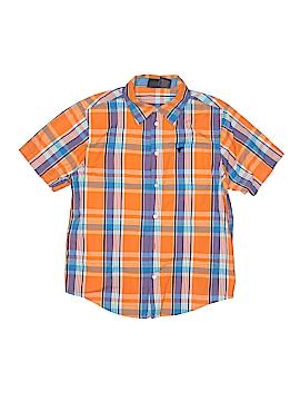 Wrangler Jeans Co Short Sleeve Button-Down Shirt Size 14 - 16