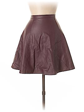 LC Lauren Conrad Faux Leather Skirt Size 10