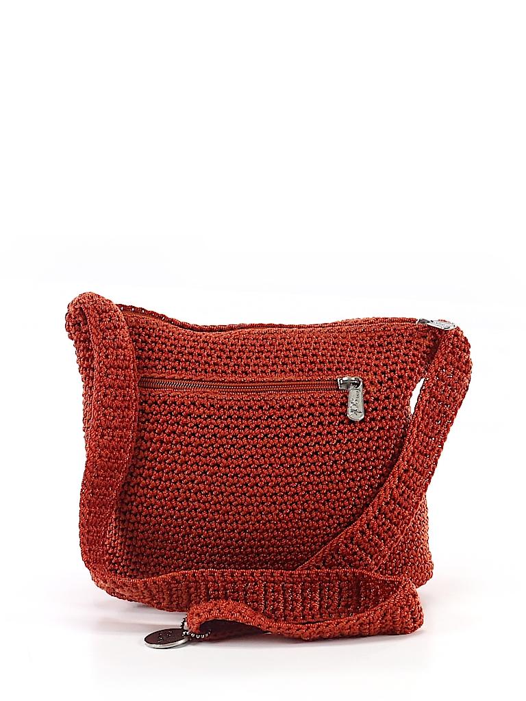 The Sak Solid Orange Shoulder Bag One Size - 70% off  b427c255f9565