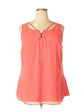 City Chic Sleeveless Blouse Size 18 Plus (M) (Plus)