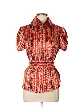 Vertigo Paris Short Sleeve Blouse Size L
