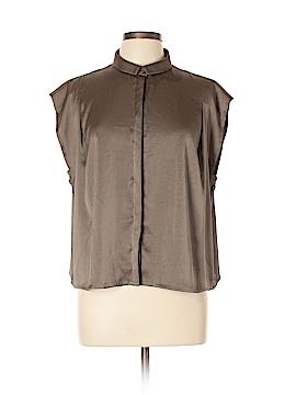 J Brand Short Sleeve Blouse Size L