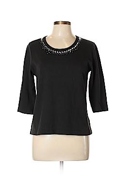 CHRISTINE ALEXANDER 3/4 Sleeve Top Size L