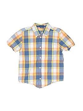 Falls Creek Short Sleeve Button-Down Shirt Size 6 - 7