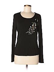 Charter Club Women Long Sleeve T-Shirt Size M