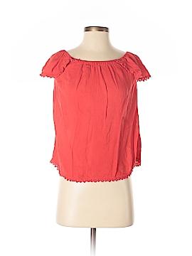 Socialite Short Sleeve Blouse Size S