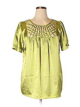 I.N. Studio Short Sleeve Blouse Size 1X (Plus)