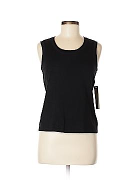 Laura Ashley Sleeveless T-Shirt Size M (Petite)