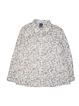 Basic Editions 3/4 Sleeve Button-Down Shirt Size XXL
