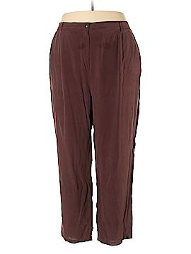 Silhoutte Silk Pants Size 30 (Plus)