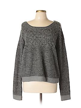 Hem & Thread Pullover Sweater Size L