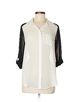 I.N. San Francisco 3/4 Sleeve Blouse Size M