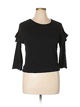 Design Lab Lord & Taylor Sweatshirt Size L