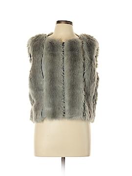 RACHEL Rachel Roy Faux Fur Vest Size L