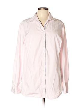 Spiegel Long Sleeve Button-Down Shirt Size 20w (Plus)