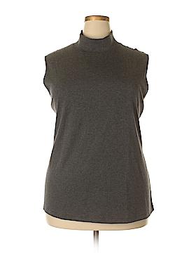 Karen Scott Sleeveless Top Size 3X (Plus)