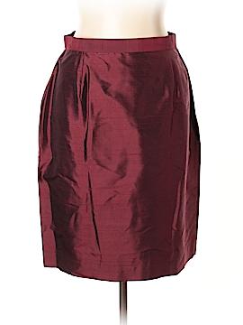 Rena Rowan Silk Skirt Size 14 (Petite)