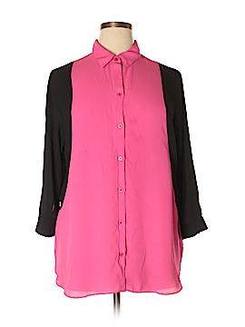 I.N. Studio 3/4 Sleeve Blouse Size XL