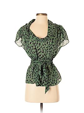 Odille Short Sleeve Silk Top Size 0