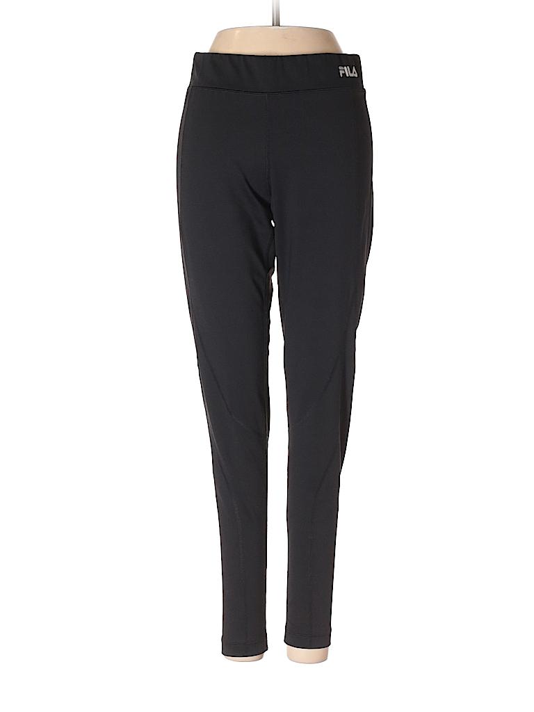 bd05bb4ce261 Fila Sport Solid Black Active Pants Size S - 62% off | thredUP