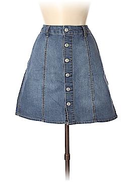 Mossimo Denim Skirt Size 6