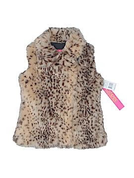 Catherine Malandrino Faux Fur Vest Size 5 - 6
