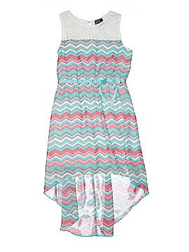 Pink & Violet Dress Size 10