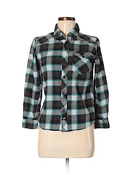 Vans Long Sleeve Button-Down Shirt Size M
