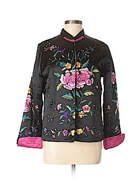 Norm Thompson Silk Blazer Size S