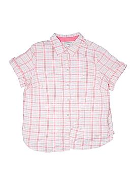 Essentials Short Sleeve Button-Down Shirt Size 18 - 20 (Plus)