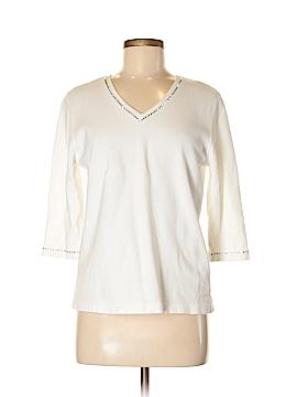 CHRISTINE ALEXANDER 3/4 Sleeve Top Size M